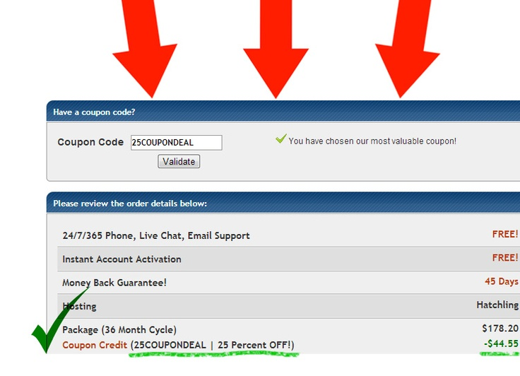 10 best hostgator coupon code images on pinterest coupon codes 25coupondeal hostgator coupon code to get 25 maximum discount fandeluxe Gallery