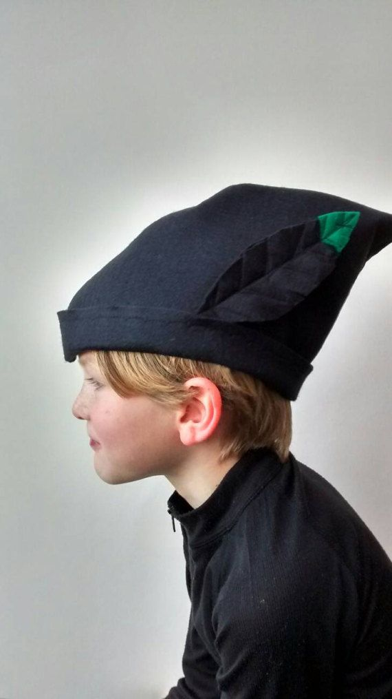 Peter Pan's shadow hat for fancy dress costume dressing