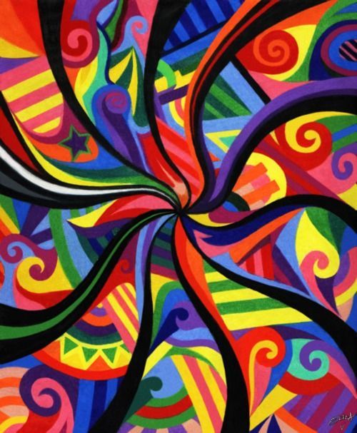 This would be a great inspiration for a Color Wheel quilt