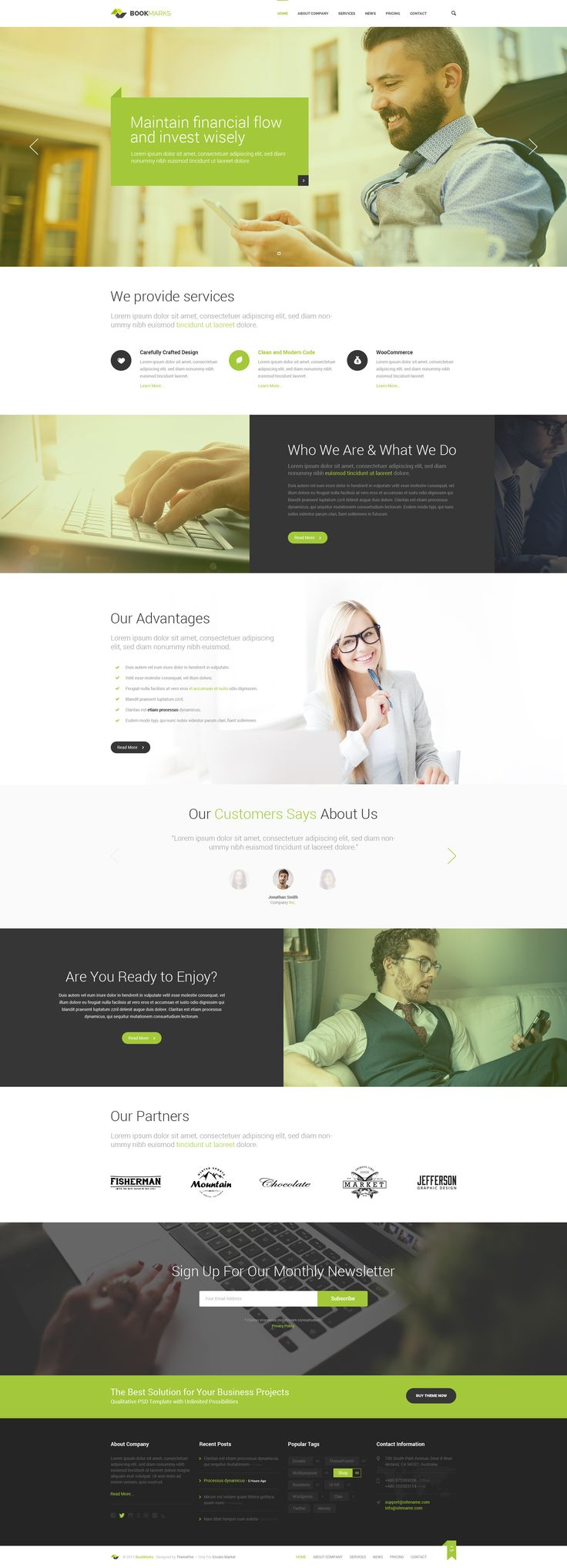 89 best OnePager Themes & Templates images on Pinterest | Charts ...