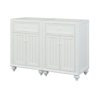 """View the Sagehill Designs CR4821 Cottage Retreat 48"""" Vanity Cabinet Only - (2) 24"""" Vanity Cabinets at FaucetDirect.com."""