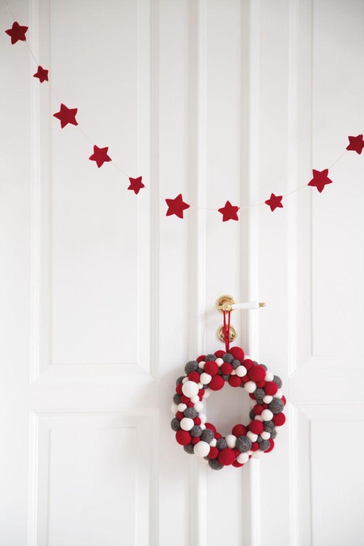 #rikkitikki #éngryogsif #christmas #wreath #star #garland #christmasdecoration #news #AW15