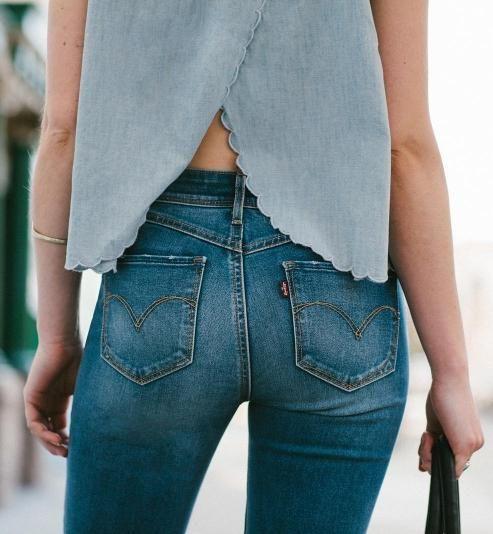 4 perfect ways to wear denim this spring!
