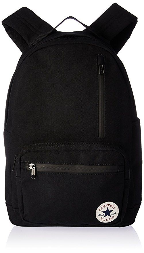 65a576f74072d Affiliate] Converse All Star Go Solid Colors Backpack, Black, One ...
