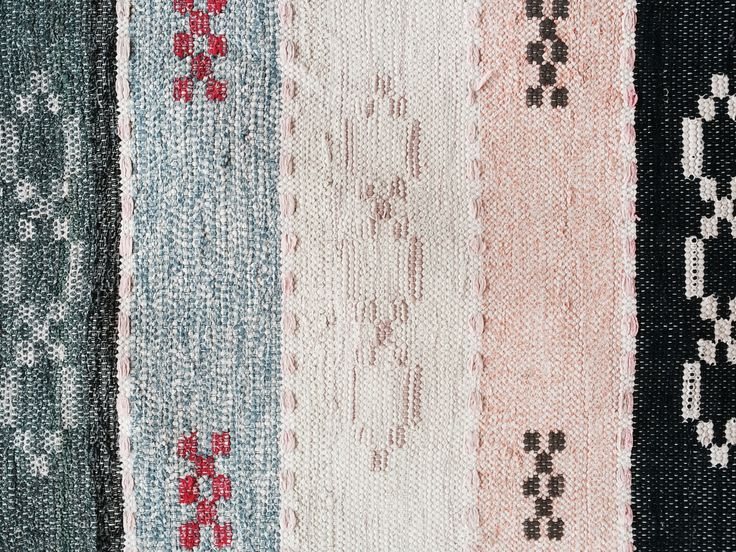 Lovely design in beautiful recycled handcraft from Sweden.  Rugs of Sweden - We sell beautiful, vintage and antique Swedish rag rugs. These rugs are not only beautiful, they are pieces of history brought to your awareness. Each rug tells you its lively and soulful story. You can only imagine its proud creator and former owners. Now it's your turn to fall in love. Welcome to a world of Swedish rag rugs..