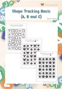 34 best Visual Tracking images on Pinterest   Worksheets, At the ...