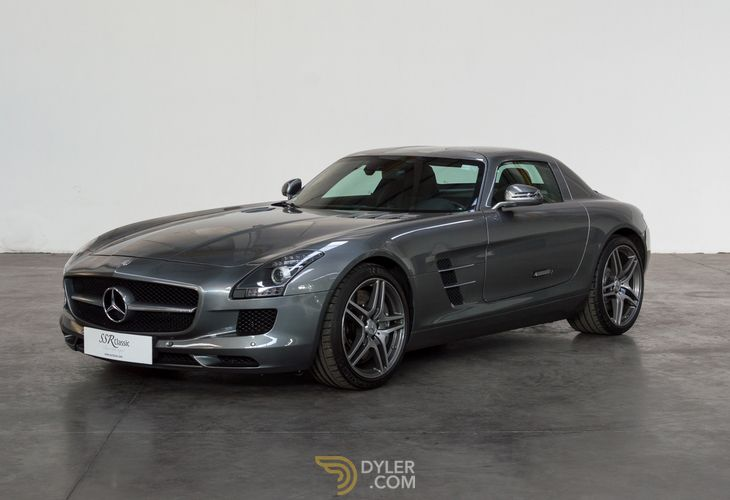 Mercedes Benz Sls Amg Coupe 2010 Grey Car For Sale 1885 Benz