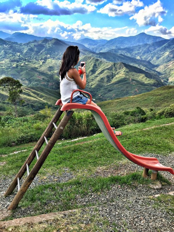 Western Mountains in Cali, Colombia