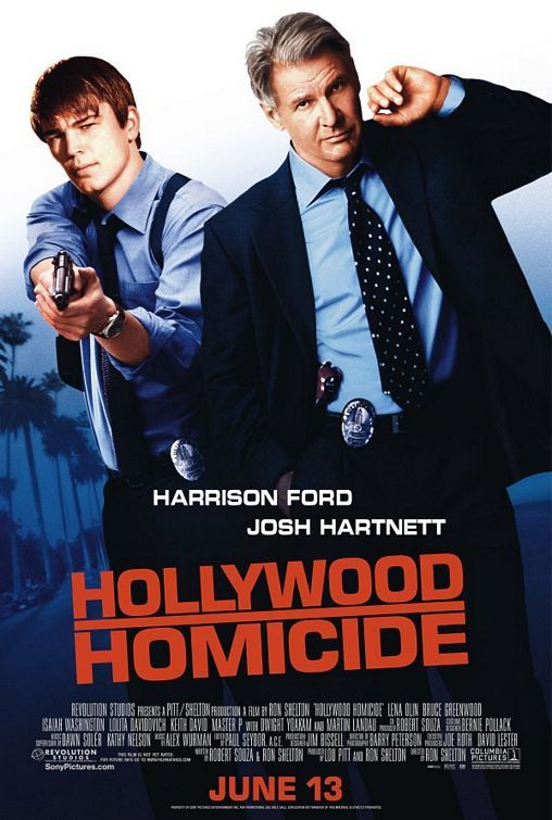HOLLYWOOD HOMICIDE (2003): Two LAPD detectives who moonlight in other fields investigate the murder of an up-and-coming rap group.