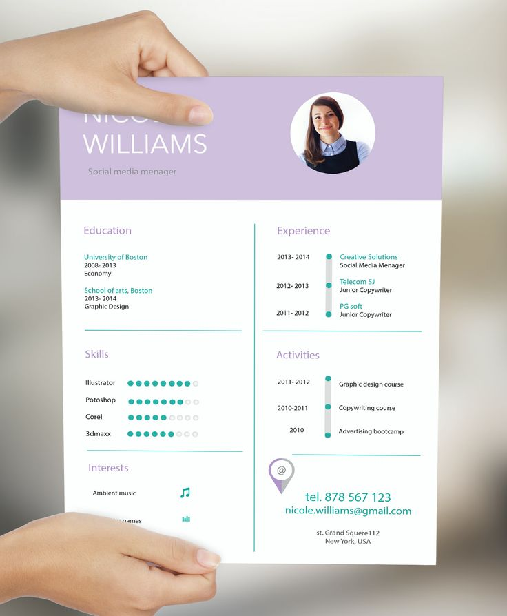 148 best creative resume by cvdesign images on pinterest cv fiverr resume