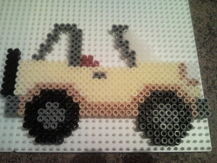 Jeep hama beads by miaou1702