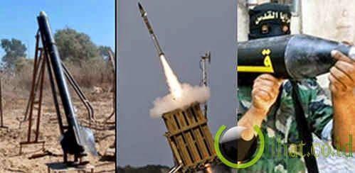5 Jenis Rocket Hamas yang Digunakan untuk Menyerang Israel