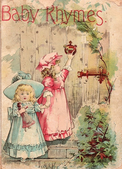 The Illustrated Mum Book Cover : Baby rhymes published by lothrop company boston in