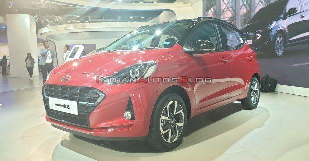 100 Ps Hyundai Grand I10 Nios Turbo Gdi Live From Auto Expo 2020