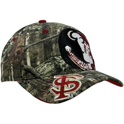 Zephyr Florida State Seminoles (FSU) Double Barrel Adjustable Hat - Mossy Oak Camo