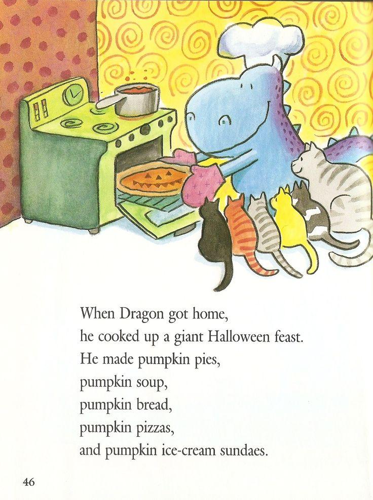 46 best Fall Halloween Kids Book Dragons Halloween images on ...