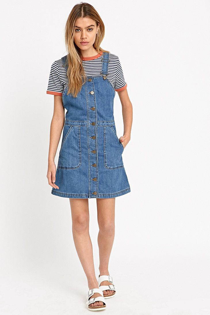Dungaree dress - perfect for summer and feeding