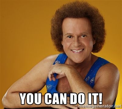 Richard Simmons.. You can do it!!! For your health.
