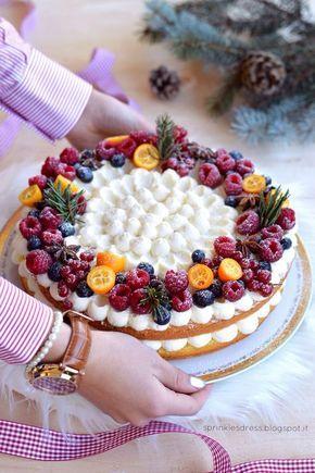 Winter cake mascarpone e arancia