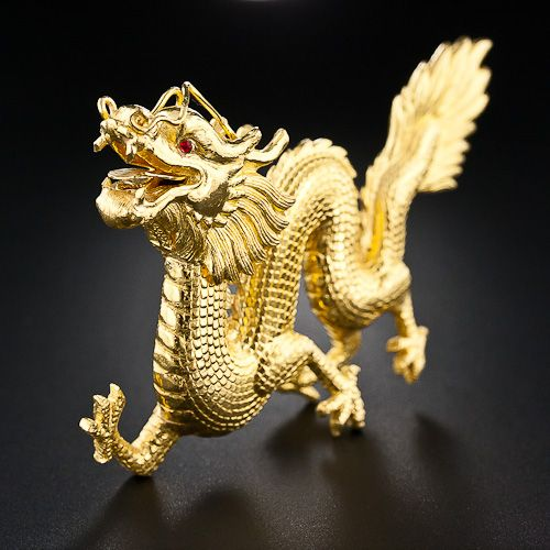 RP: Gold Chinese Dragon