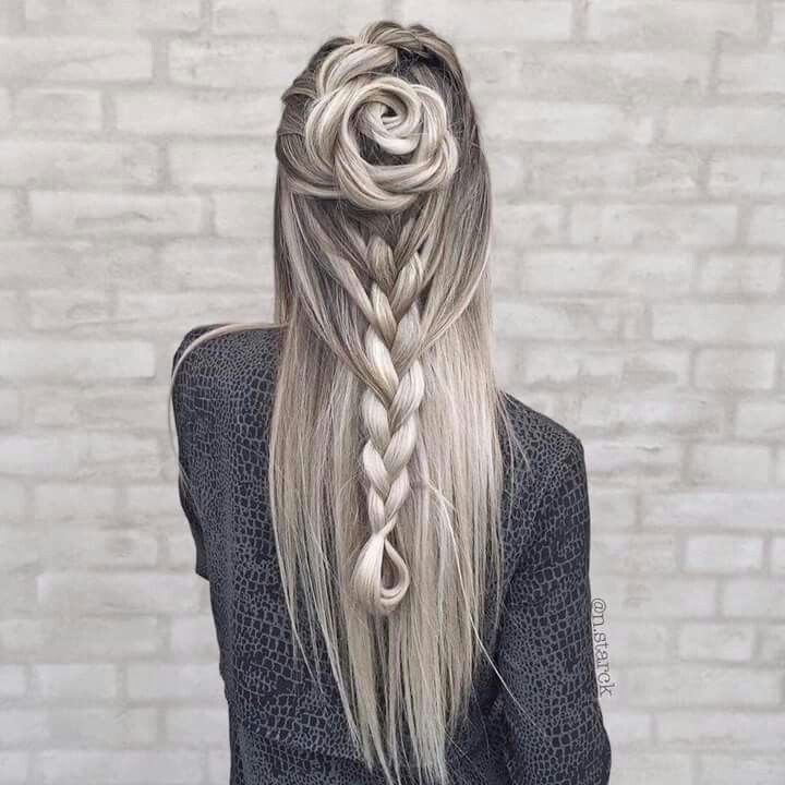 This is a such a cool hairstyle!