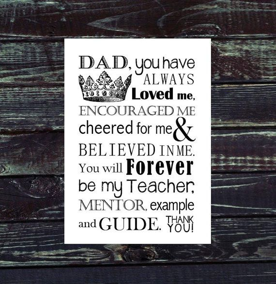 fathers day quote from baby girl