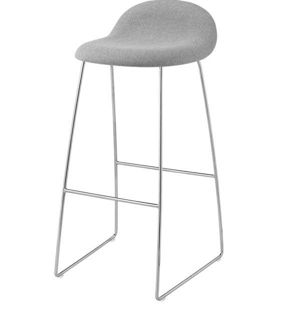 GUBI 33 Fully upholstered Hallingdal - Barstools