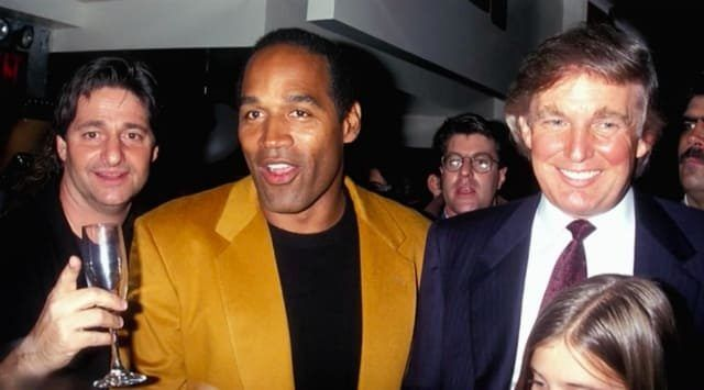 Why does Trump not use the investigators he sent to Hawaii for the Obama birth certificate and use them to find the White House leakers?  The thing is — Trump's good friend OJ Simpson is getting out of prison soon — the Juice will be loose! And all his time behind bars has impeded his tireless search for the REAL KILLERS of Nicole Brown Simpson and Ronald Goldman. So, perhaps Trump has generously loaned those investigators in Hawaii (and we're still waiting to hear the amazing things Trump…