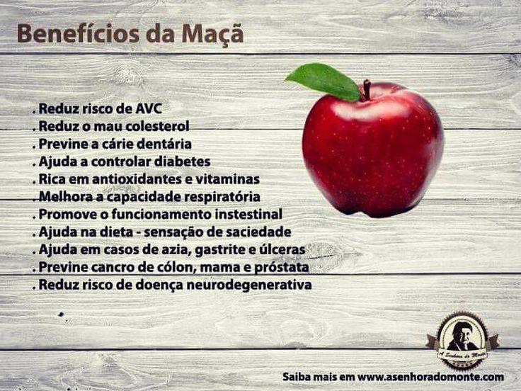 Benefícios da Maçã   #asenhoradomonte #asenhoradomonteblog #maça #fruta #maçãs #alimentacaosaudavel #alimentos #saudavel #saude #saudeebemestar #beneficios #nutricao