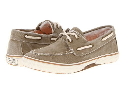 Sperry Kids Halyard (Little Kid/Big Kid) Khaki - Zappos.com Free Shipping BOTH Ways