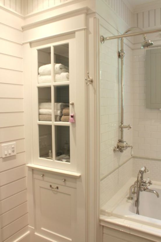 Bathroom Linen Cabinet How To Keep Your Small Bathroom Tidy And Neat Small Bathroom Remodel