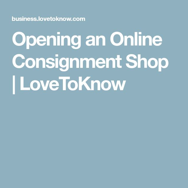 Opening an Online Consignment Shop | LoveToKnow