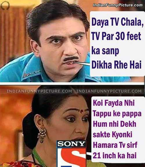 Gallery For > Funny Photo Captions In Hindi Taarak Mehta Ka Ooltah Chashmah Jethalal And Babita Ji Hot