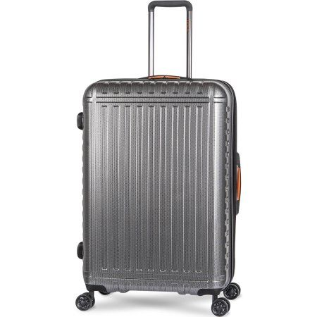 iFLY Hard-Sided Luggage Racer 28 inch, Silver