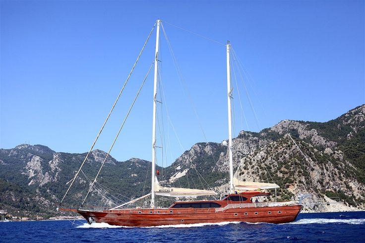 Sail aboard a Mezcal II Gulet in Turkey