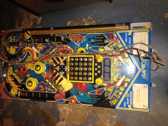 Mr Mrs Pac-Man Pinball Restoration forum thread