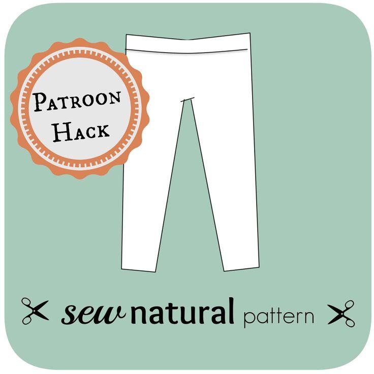 Of Yogabroek      Met een goed basispatroon kun je zoveel kanten op door je patroon te 'hacken'. Met een beetje lef pas je het patroon hier ...