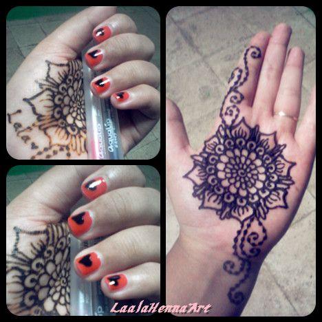 simple henna design #laalahennaart