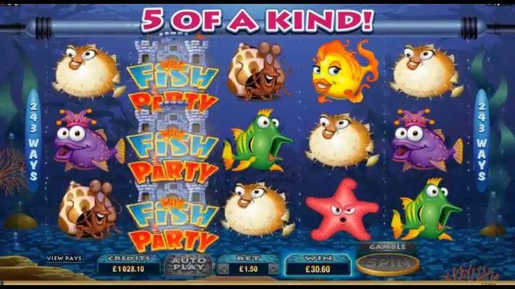 Fish Party Online Slot at Euro Palace Casino