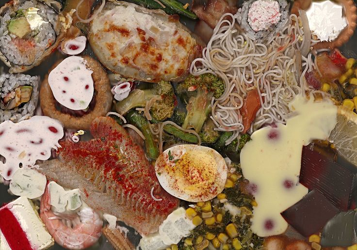Steven Lang,Teppanyaki Grill and Supreme Buffet (To Go), $4.99/lb,  pigmented inkjet, 2011