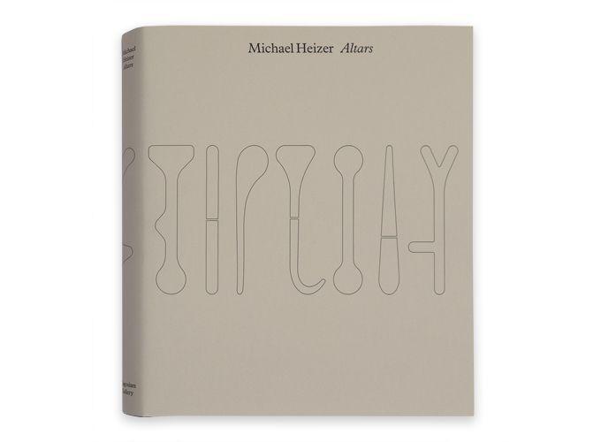 Michael Heizer: Altars Catalogue. $100 @ Gagosian SHOP