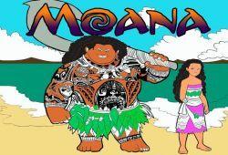 Con este juego online podrás pintar a la princesa Moana en una de sus imágenes más emblemática de la película. Cambia los colores de Moana como más te guste en un divertido juego de pintar online. Lo podrás jugar en cualquier dispositivo, ya sea un PC, una Tablet o un celular.