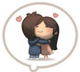 El amor es... un fuerte abrazo
