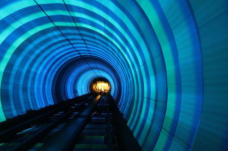 Bund Sightseeing Tunnel, Shanghai, China