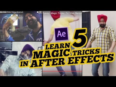 TOP 5 Magic Videos in After Effects Funny | Magic Tricks | Tutorial - YouTube