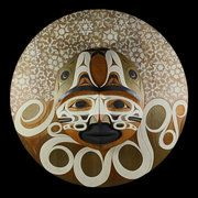 Moon Sitting on the Water for Four Days (1996) by Tim Paul, Nuu-chah-nulth (Hesquiaht) artist (X120601)