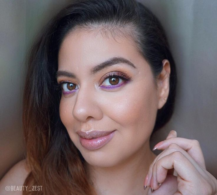 """175 Likes, 4 Comments - Jasmine #beautyzest (@beauty_zest) on Instagram: """"Here comes another photo of yesterday's look with my eyes open. So you can see the gorgeous purple…"""""""