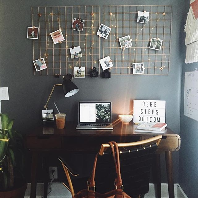 Office Envy: @katemharris's desk is A+! We wrote up our ten fave ways