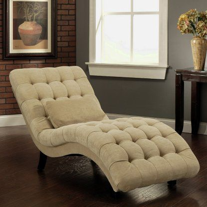 Thatcher Fabric Chaise Lounge - Indoor Chaise Lounges at Hayneedle