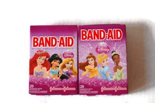 Band-aid Brand Princesses 20 Count Pack of 2 Variety Pack @ niftywarehouse.com #NiftyWarehouse #Disney #DisneyMovies #Animated #Film #DisneyFilms #DisneyCartoons #Kids #Cartoons
